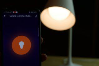 Recenzja Nous Smart Lamp S2 - test taniej inteligentnej lampki biurkowej 11