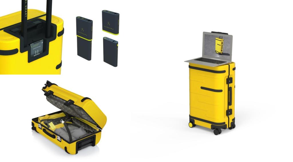 Samsara inteligenta walizka