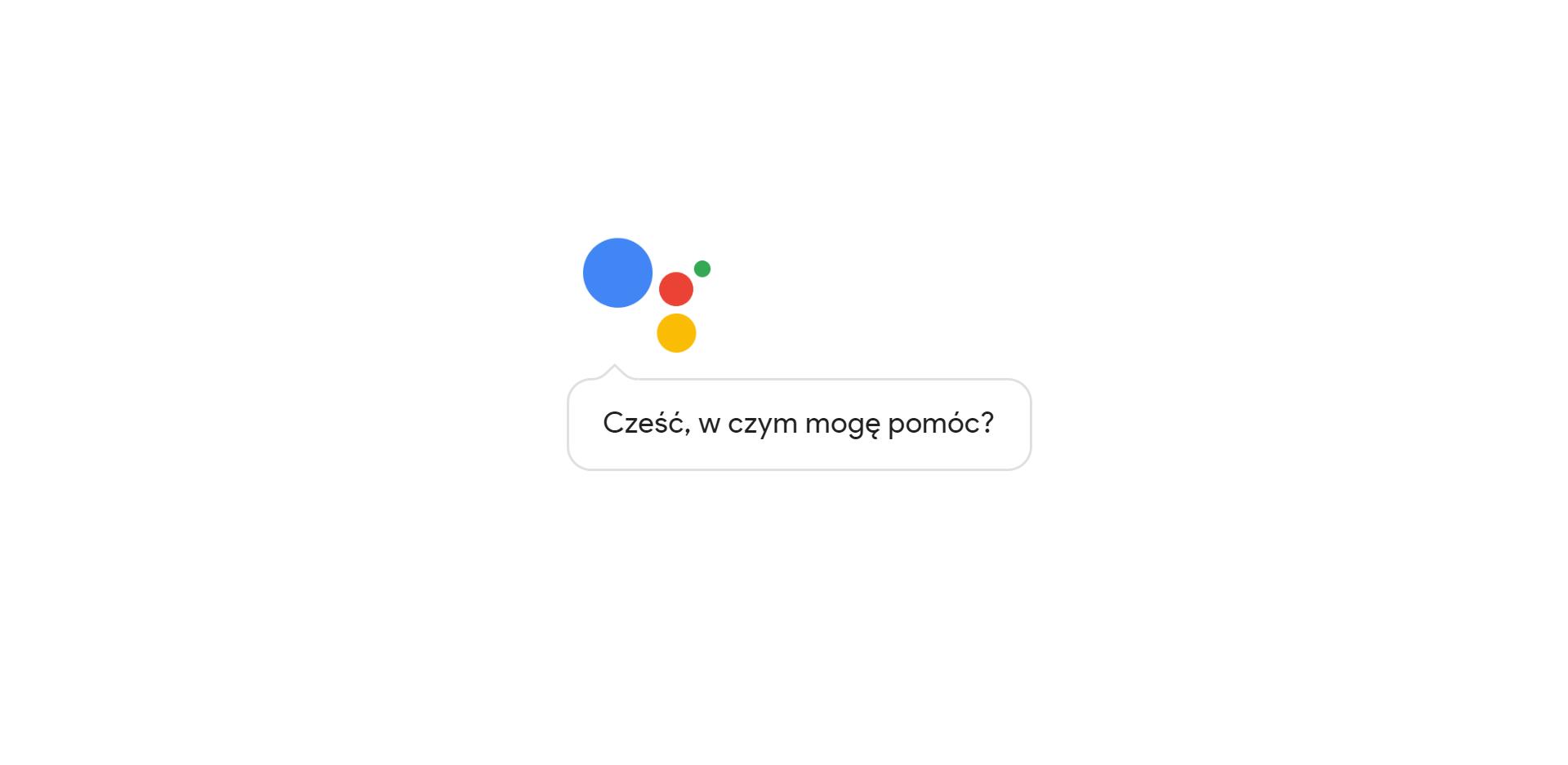 Asystent Google ze wsparciem dla czujników