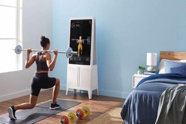 Tempo - domowa smart siłownia, idealna do nowoczesnego mieszkania 9