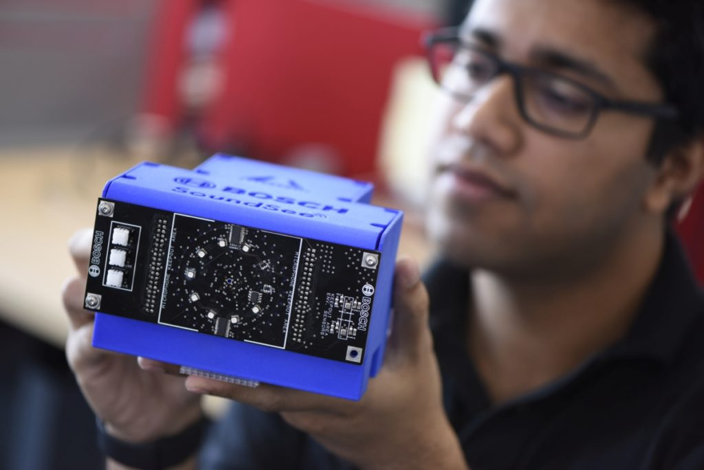 Robot SoundSee dla misji NASA wykorzystujący audio i AI