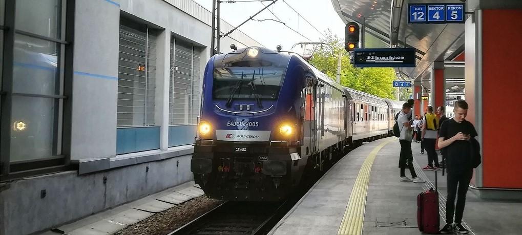 Lokomotywy Griffin dla PKP Intercity z systemem ETCS drugiego poziomu