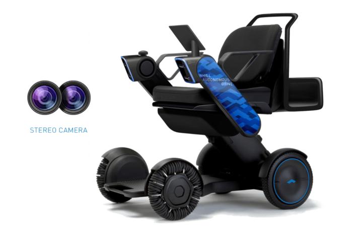 WHILL autonomiczny wózek dla niepełnosprawnych