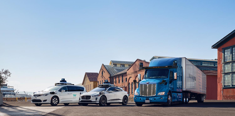 Autonomiczne pojazdy od Google (Waymo)