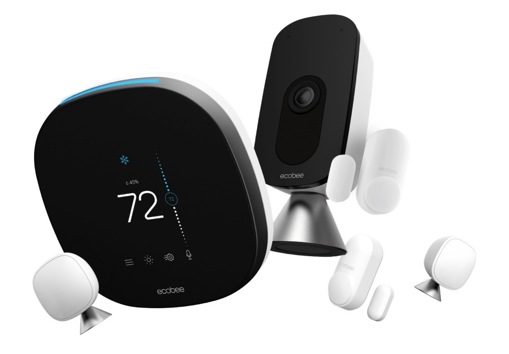 System monitorujący ecobee haven z ogsługą głosową Alexa