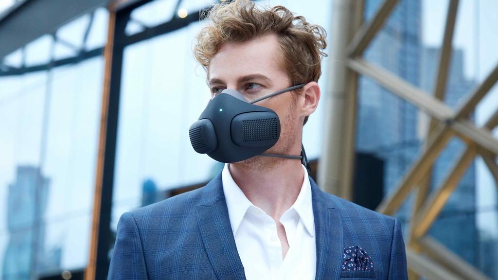 Blu Sky Labs producent maski ATMOBLUE z inteligentnym systemem zarządzania i filtracją na poziomie 99%