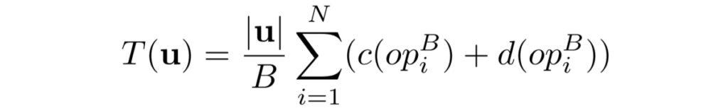 Równanie użyte do opisu technologii w Google Duo