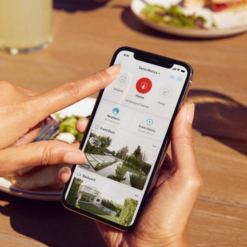 Aplikacja Ring Alarm Security Kit nowej generacji