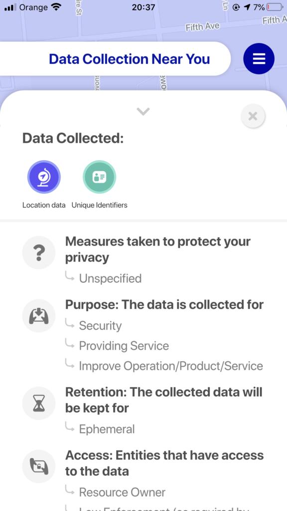 Aplikacja do śledzenia urządzeń IoT w okolicy użytkownika