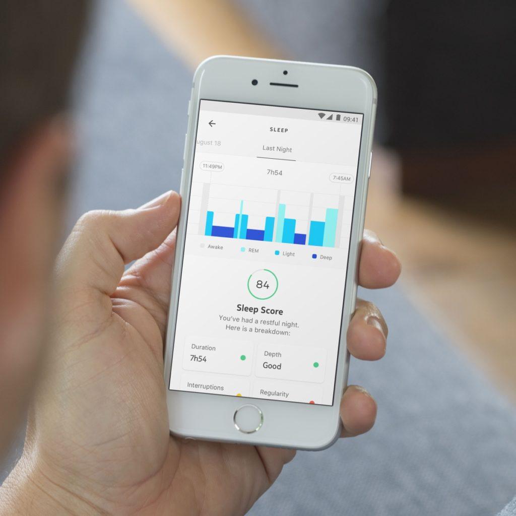 Aplikacja Withings do śledzenia snu