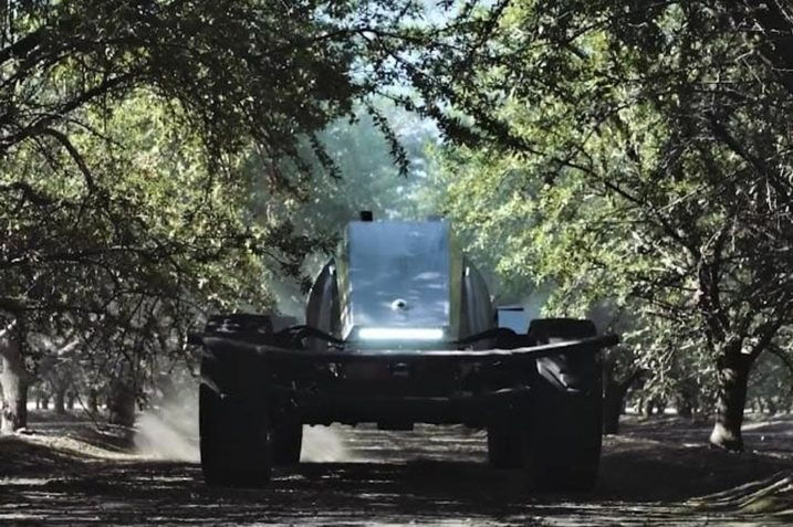 GUSS - czołg dla rolnictwa? Nie, autonomiczna opryskiwarka