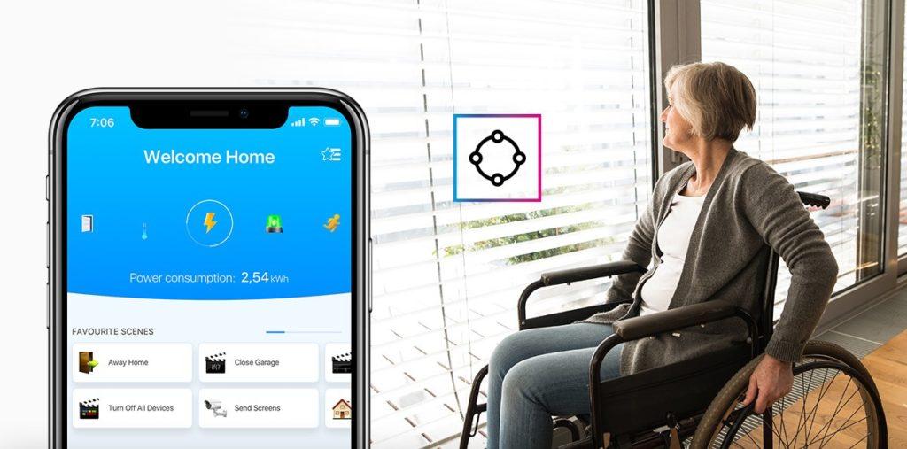 Fibaro dla osób niepełnosprawnych