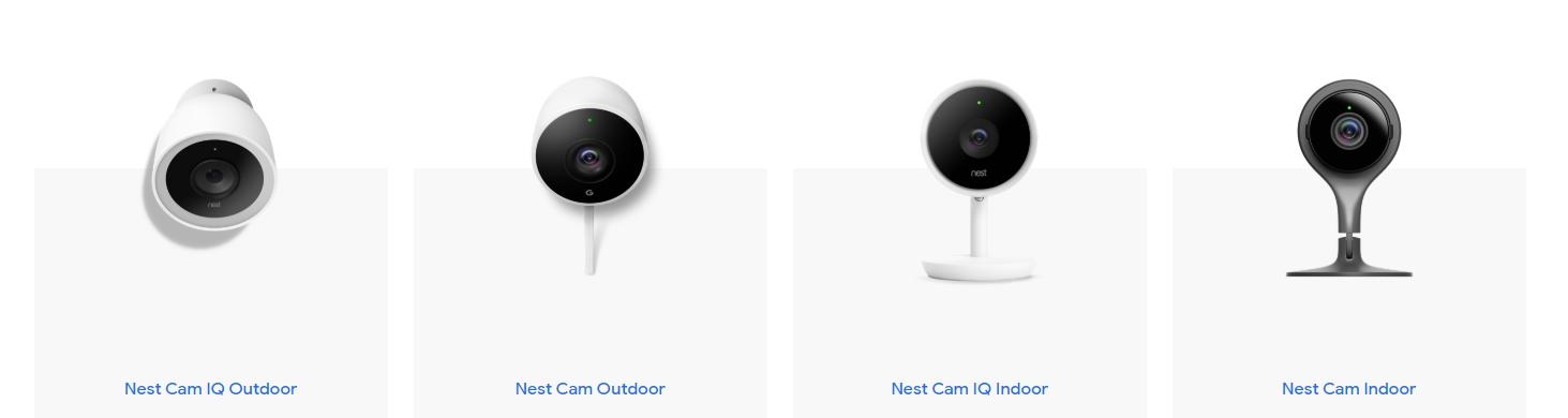 kamery Nest