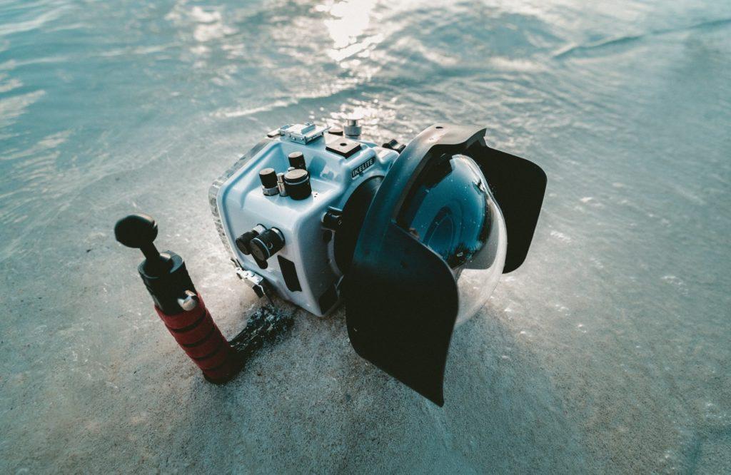 Kamera podwodna do badań. Nie wykorzystuje AI.