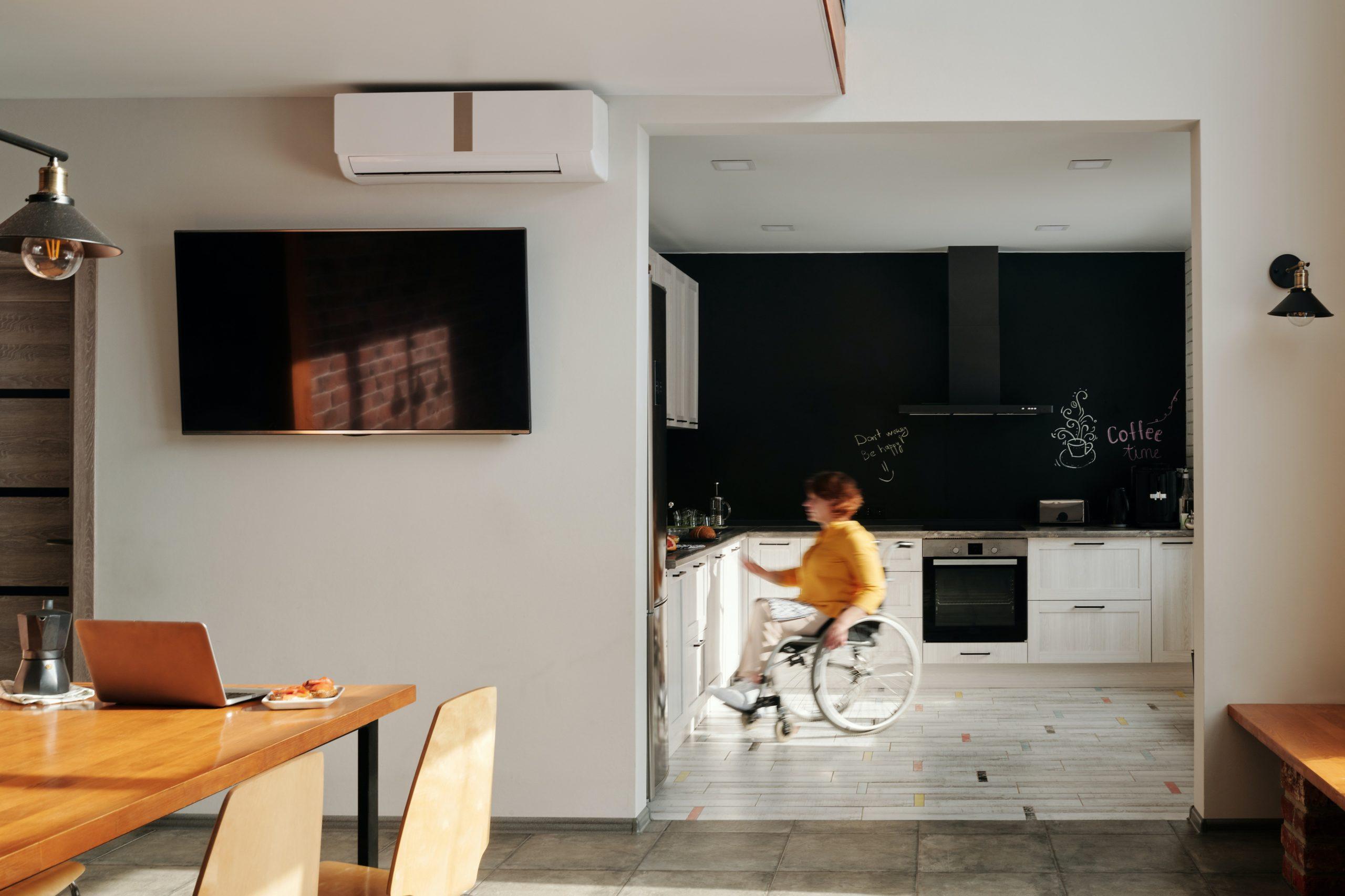 Inteligentny dom osoby niepełnosprawnej według Fibaro