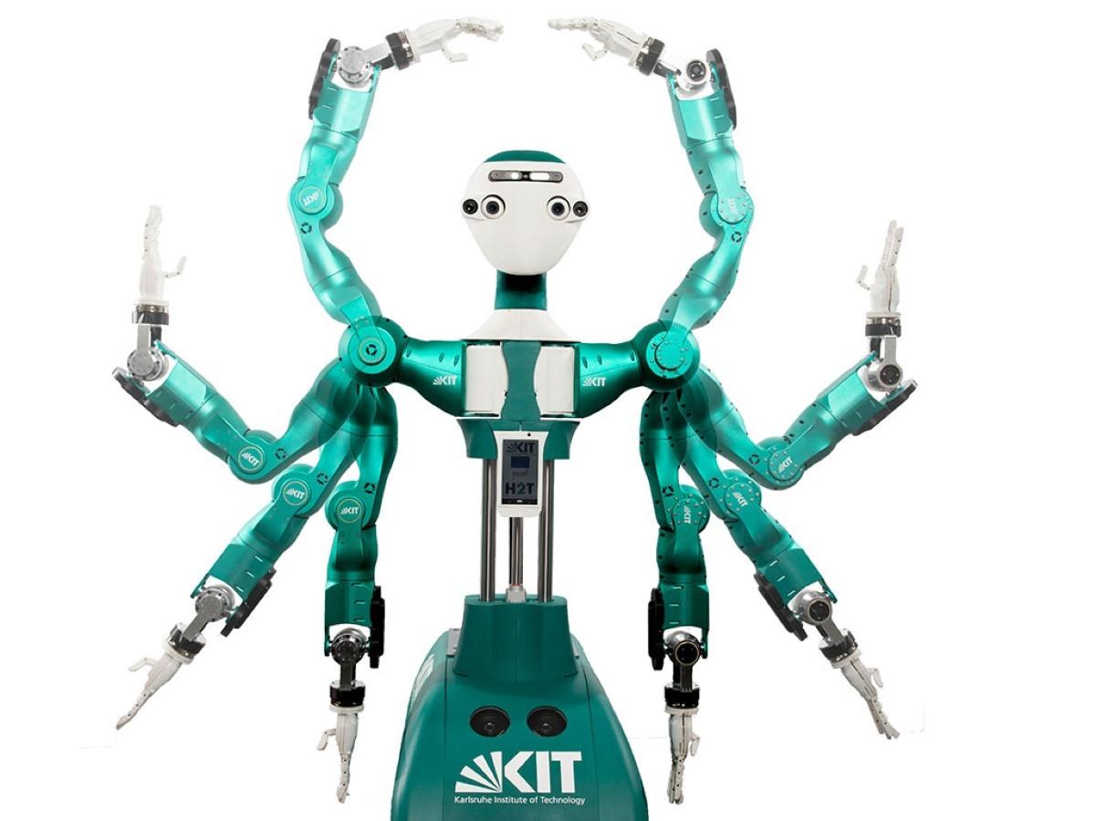 Robot Armar-6 w pełnej okazałości