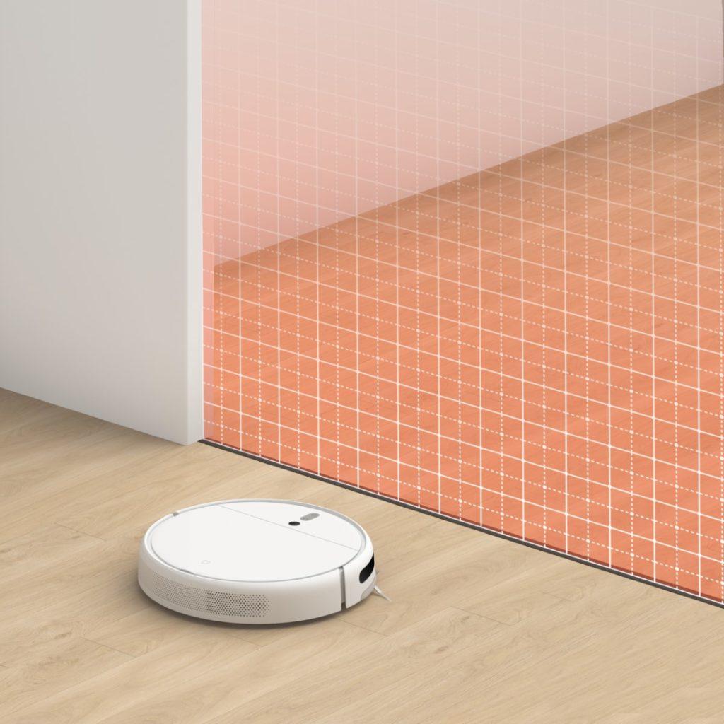 Xiaomi Mi Robot Vacuum-Mop jest wyposażony w szereg czujników