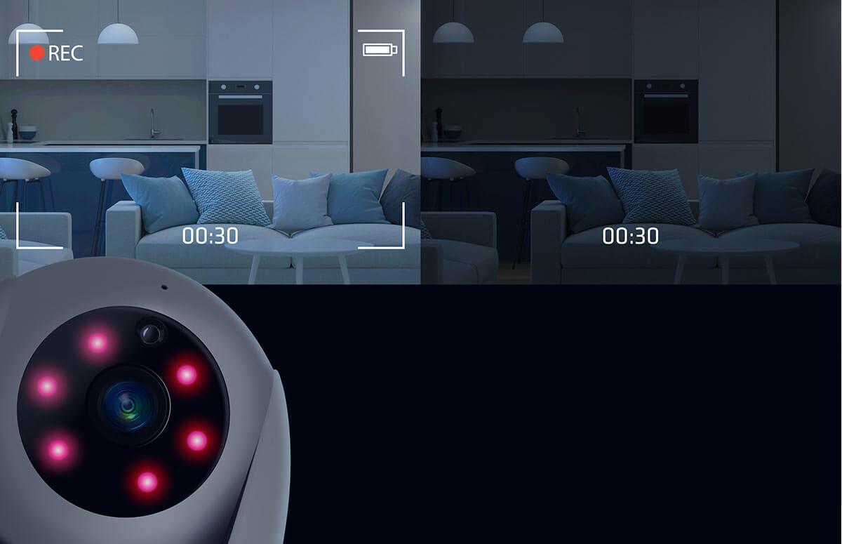 XBlitz IP300 będzie też działał w nocy a nawet w całkowitej ciemności