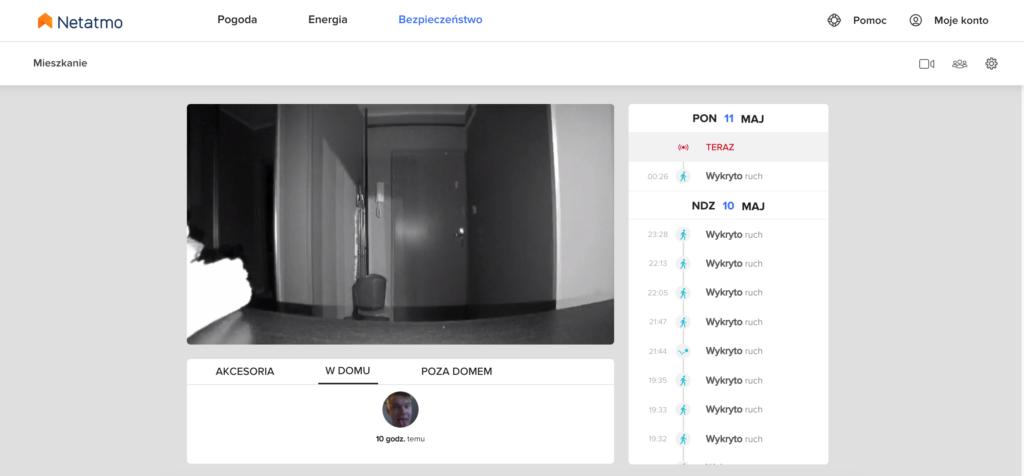 Recenzja Inteligentnej Kamery Domowej Netatmo z rozpoznawaniem twarzy