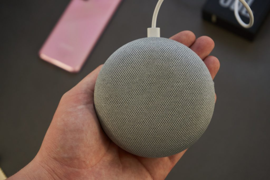 Google Home Mini - oiot