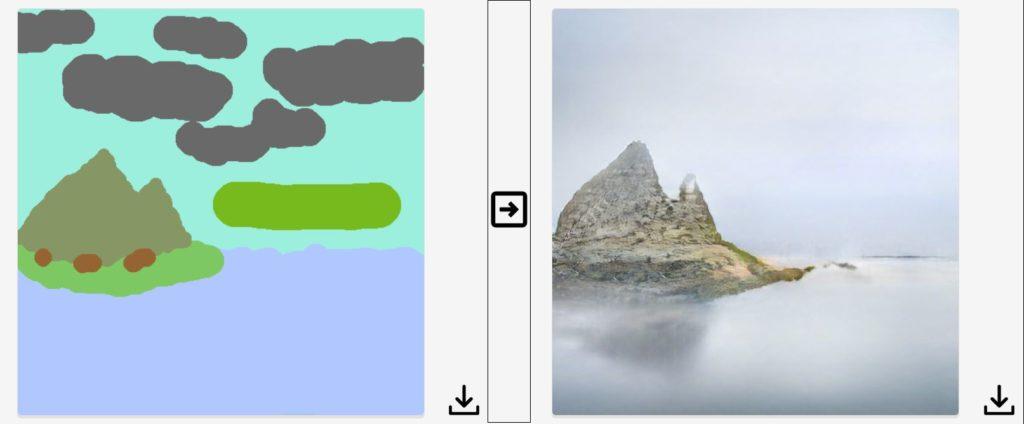 Jak Nvidia zamienia rysunki w realistyczne krajobrazy 3