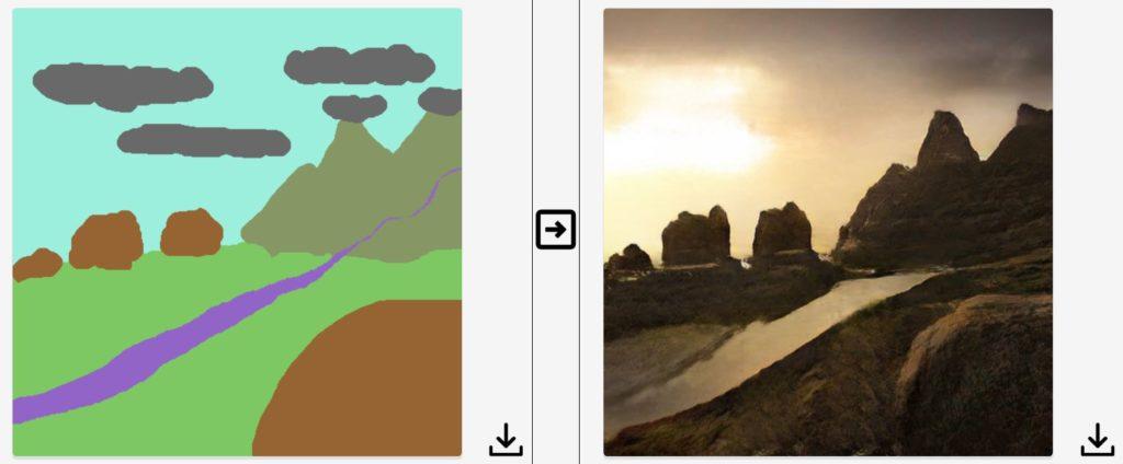 Jak Nvidia zamienia rysunki w realistyczne krajobrazy 4