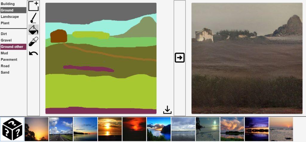Jak Nvidia zamienia rysunki w realistyczne krajobrazy 5