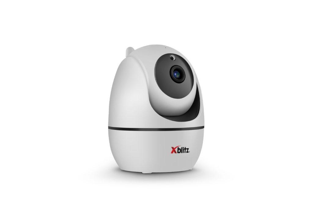 Biel w połączeniu z owalami sprawia, że kamera XBlitz IP300 bardzo dobrze wygląda