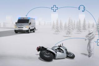 Bosch Help Connect pomoże motocyklistom po wypadkach 11