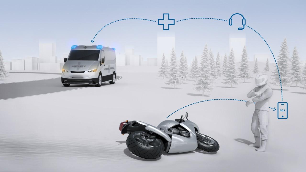 Bosch Help Connect pomoże motocyklistom po wypadkach 8