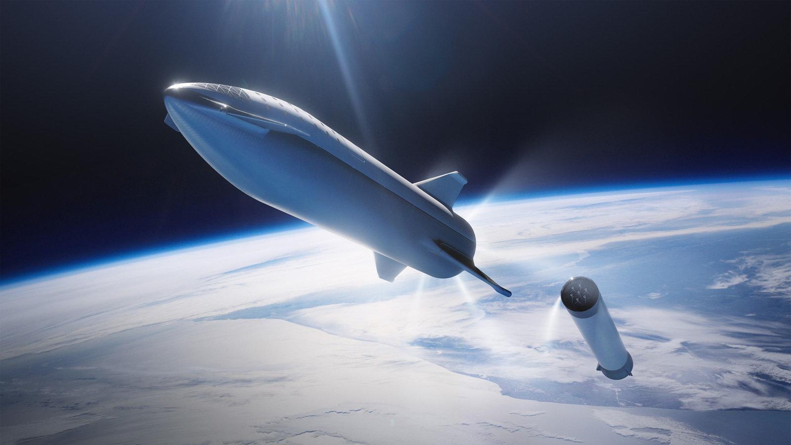 SpaceX zbuduje pływające porty kosmiczne. Polecimy z nich na Księżyc i Marsa