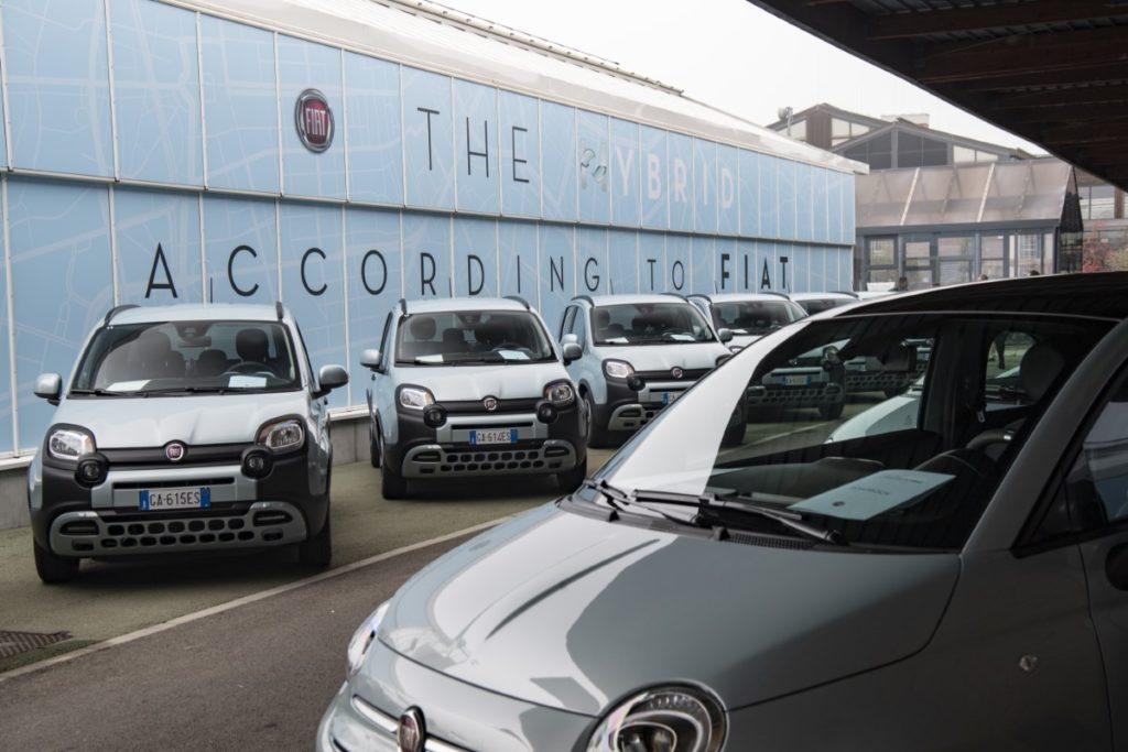 Fiat 500 i Panda Hybrid niebawem mogą się stać częstym widokiem na ulicach miast