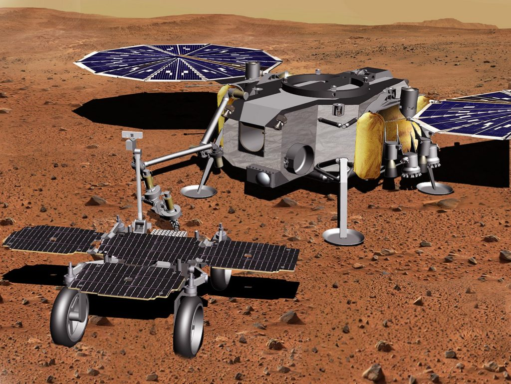 Airbus stworzy łazika, który dostarczy próbki z Marsa na Ziemię