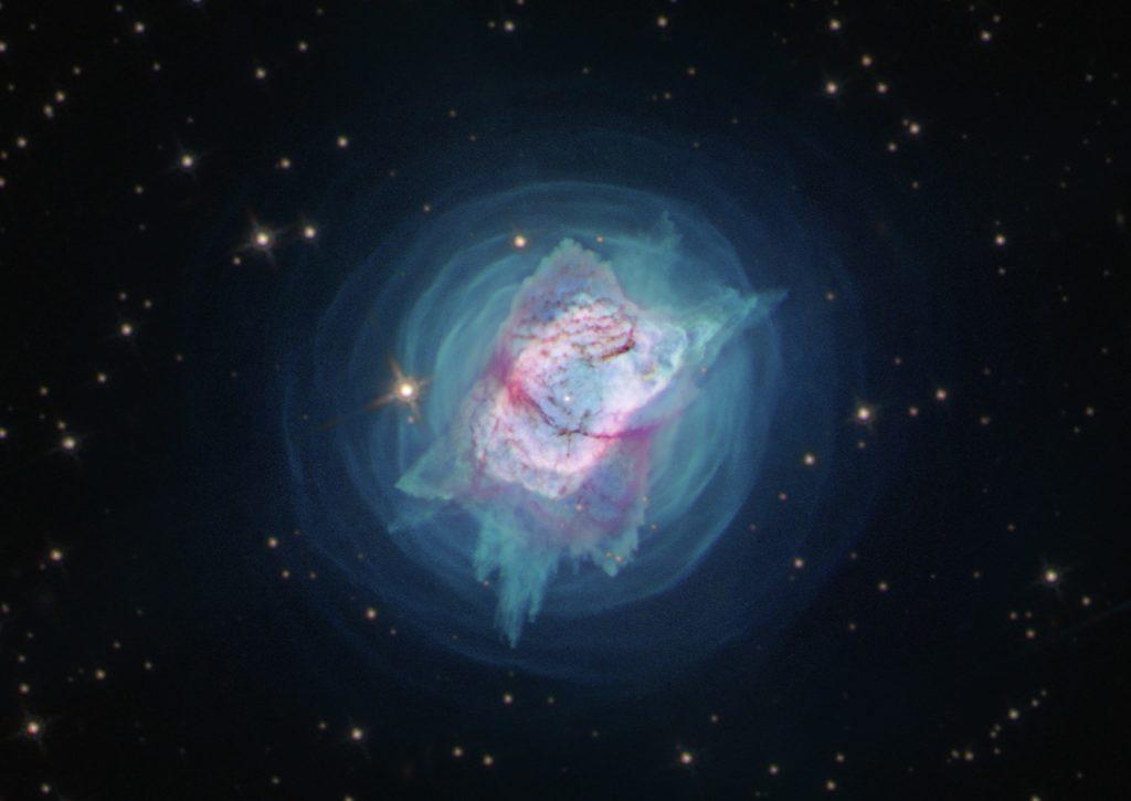 Teleskop Hubble'a złapał śmierć gwiazd w mgławicach 8