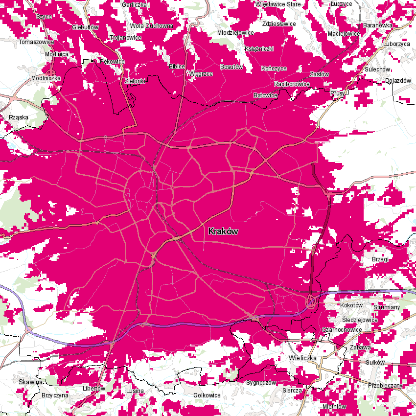 T-Mobile 5G Kraków