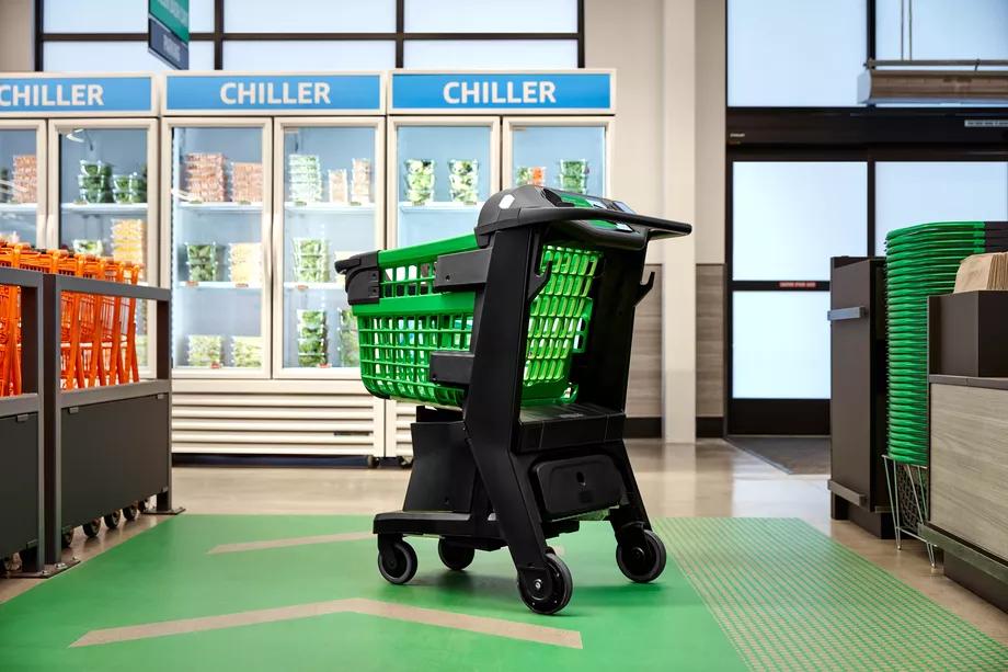 Amazon prezentuje Dash Cart - inteligentny wózek zakupowy