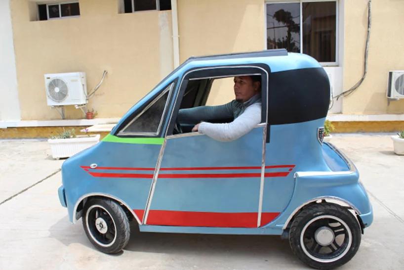 Algierski naukowiec zbudował własny, miejski samochód elektryczny
