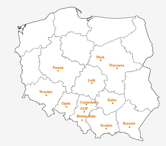 Orange mapa zasięgu 5G
