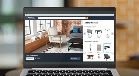 Aplikacja Amazon pozwoli na udekorowanie wnętrza w AR