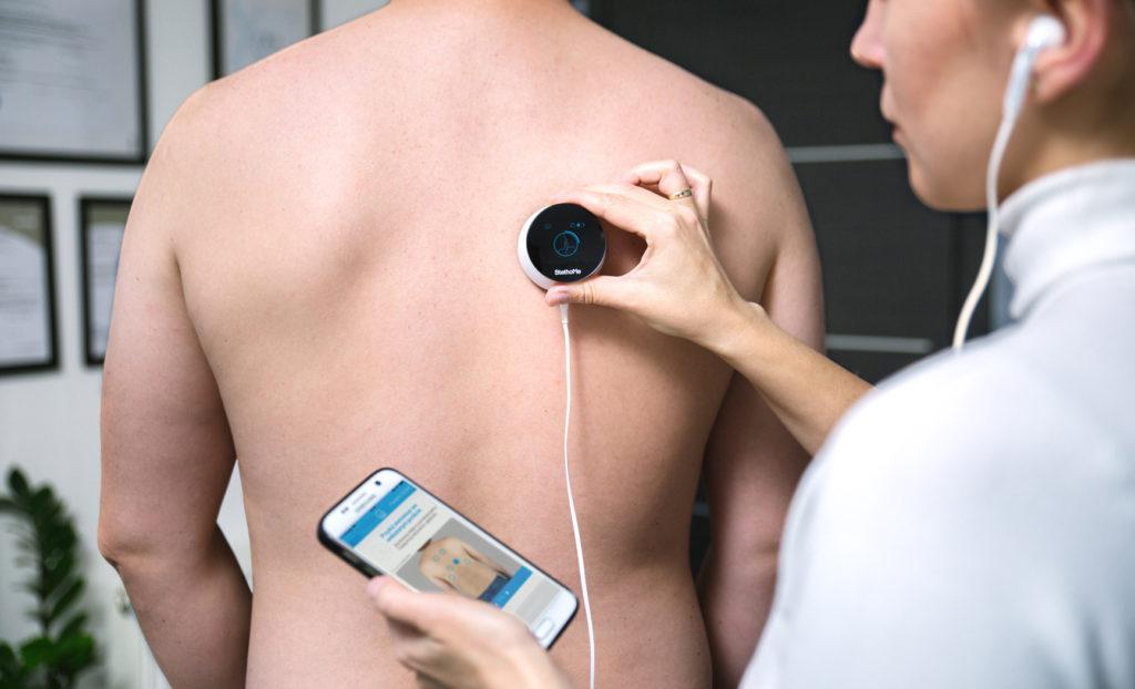 Oto inteligentny stetoskop polskiej produkcji, który zmieni przyszłość medycyny