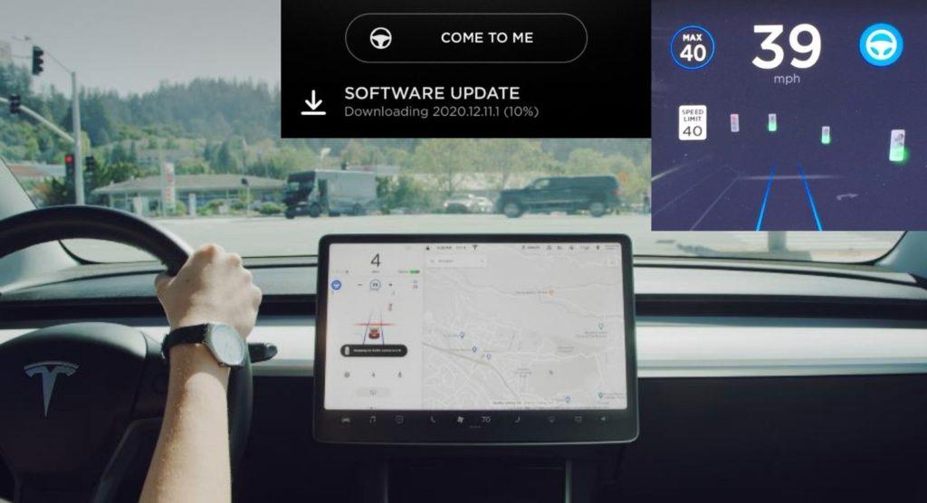 Autopilot Tesli zauważy zielone światło i ograniczenie prędkości