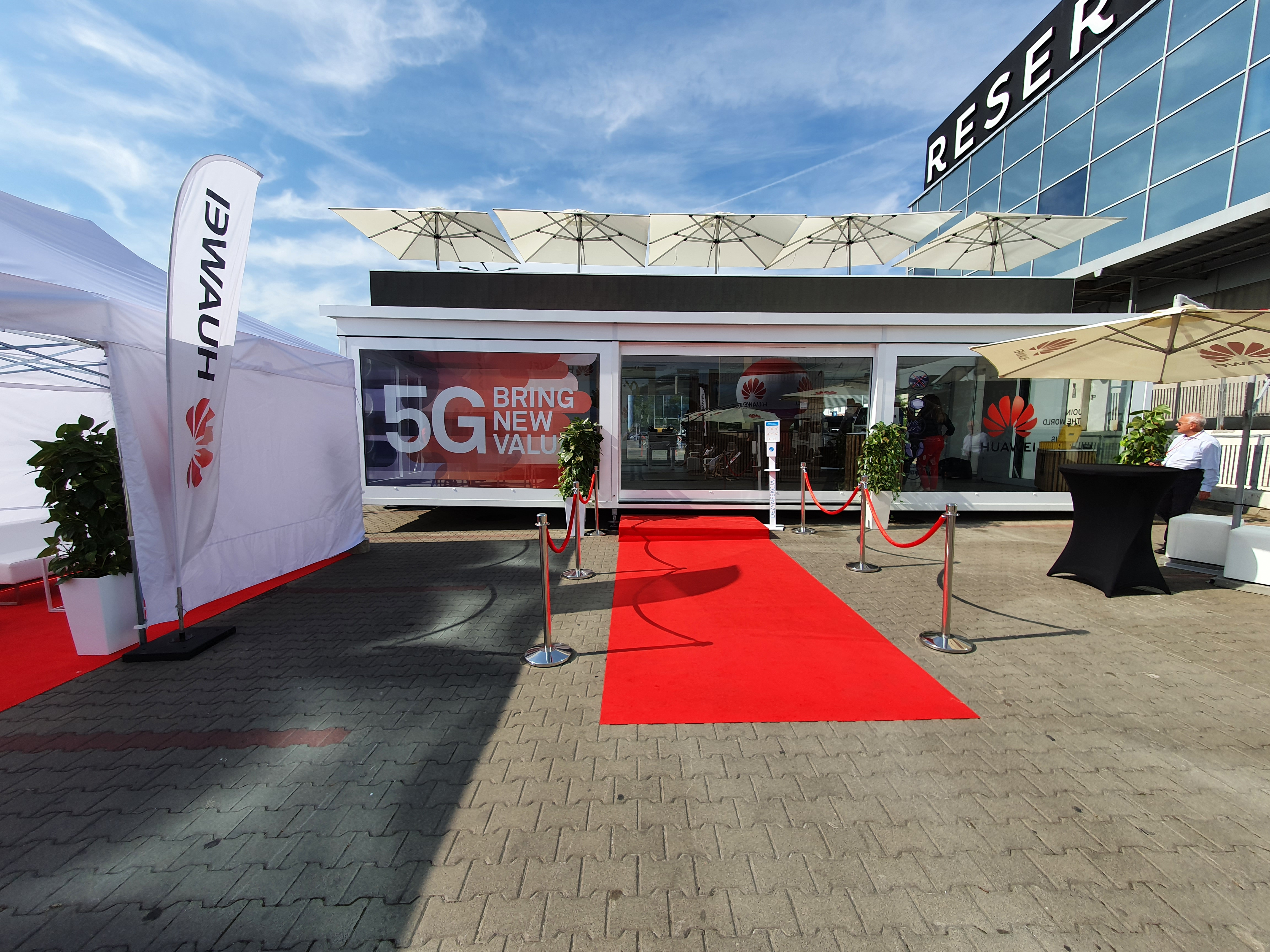 5Gtruck Huawei fot. oiot.pl