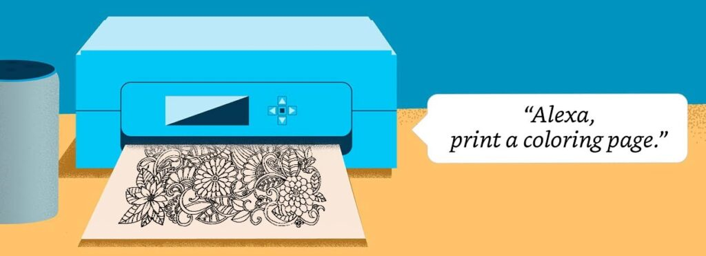 Amazon Alexa może teraz połączyć się z drukarką