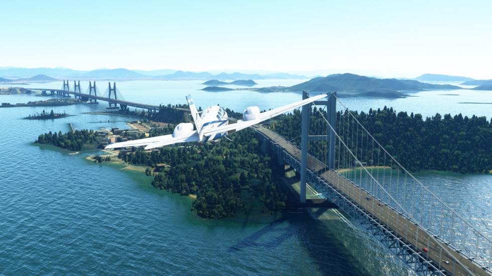 Jak sztuczna inteligencja odtworzyła cały świat w Microsoft Flight Simulator 2020
