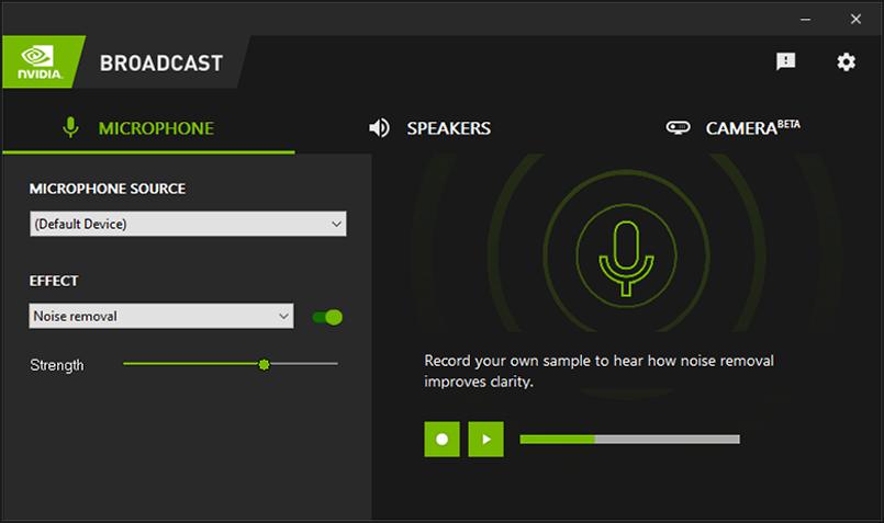 Nvidia Broadcast zamieni Twój pokój w studio nagrań - dzięki sztucznej inteligencji