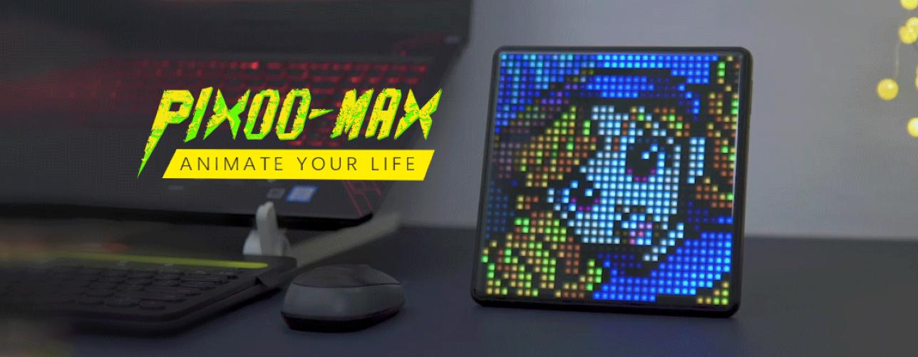 Kampania na Kickstarterze była udana dla Pixoo-Max
