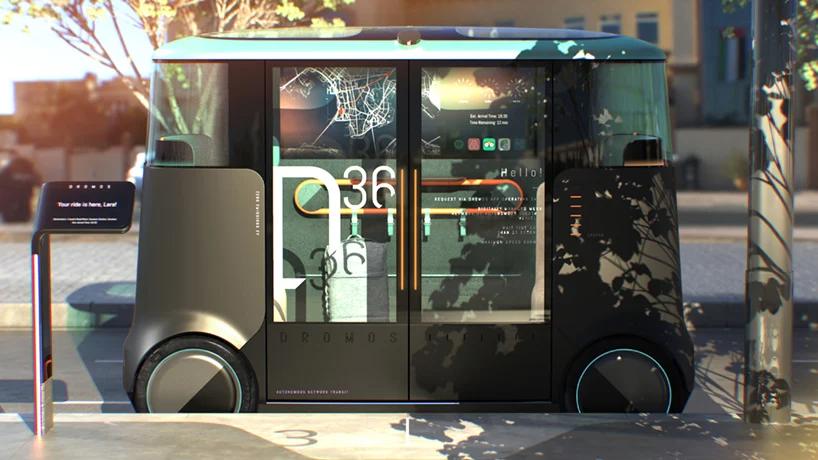 PriestmanGoode przedstawia autonomiczne pojazdy, które mają zrewolucjonizować publiczny transport