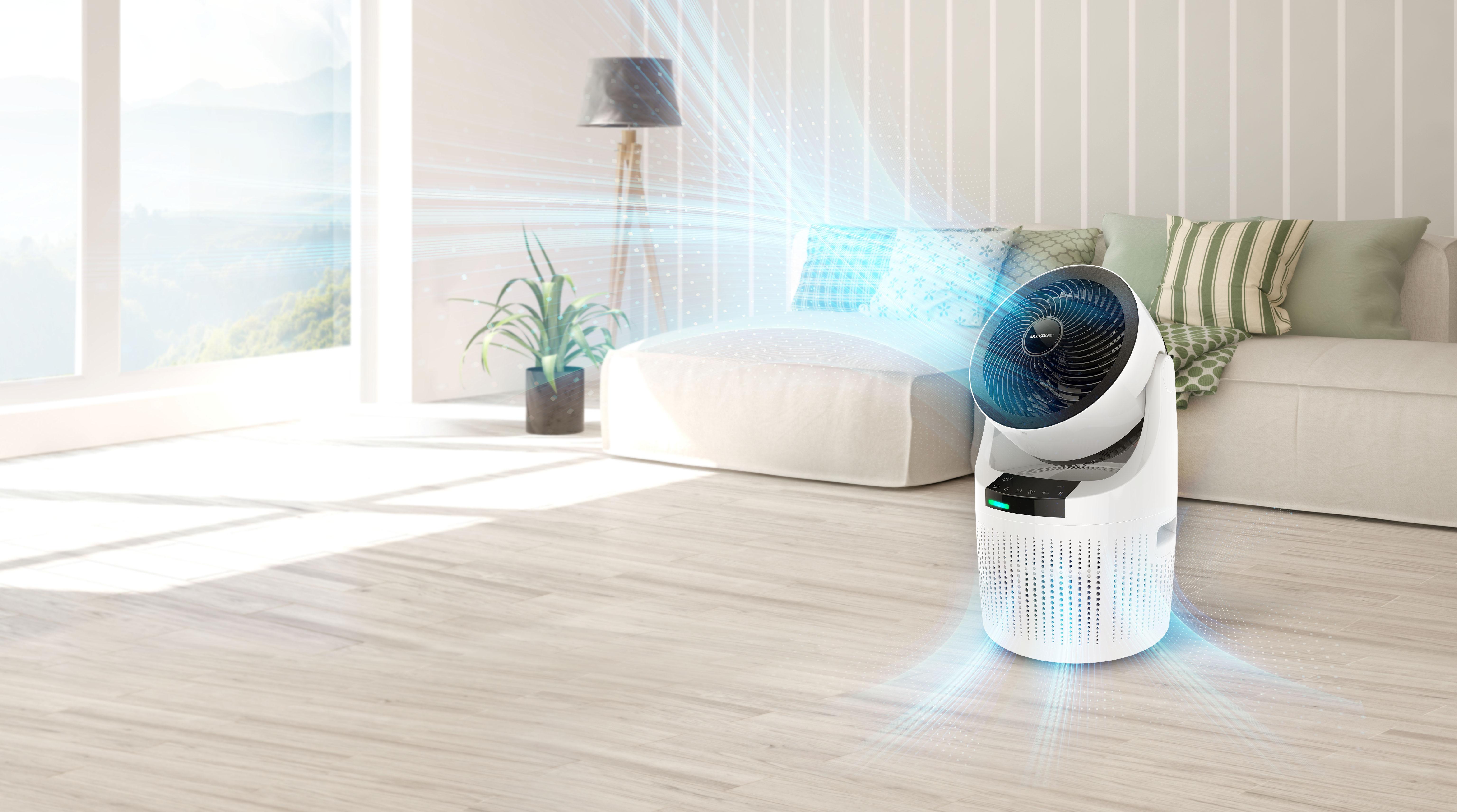 Acer - oczyszczacz powietrza 2 w 1 z filtrem HEPA