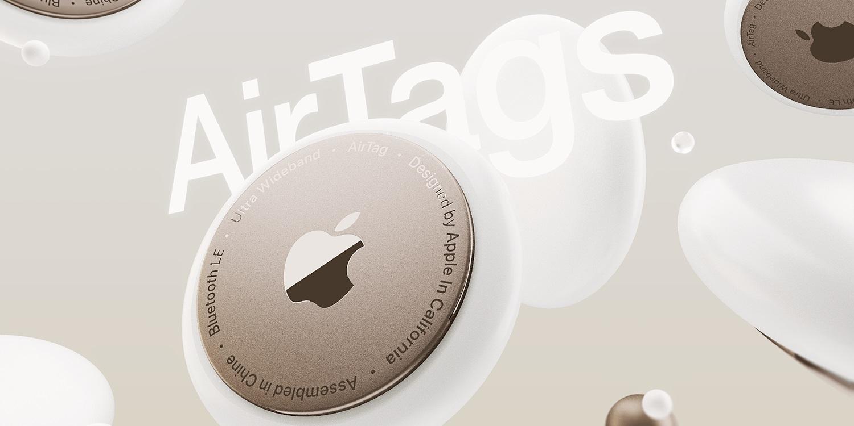 Oto animacja przedstawiająca Apple AirTags