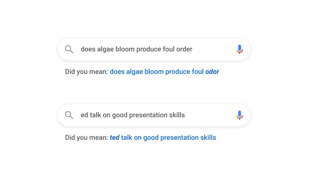 Google Search - ulepszenia rozpoznawania pisowni